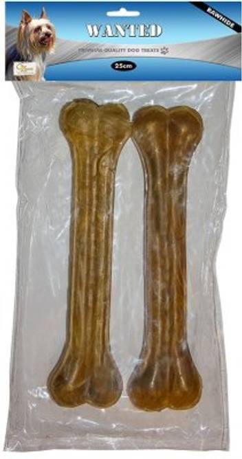 Bilde av 2 stk. tyggebein i råhud 25