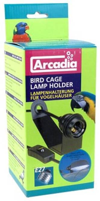 Bilde av Fugl bur lampe holder